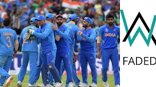 World Cup 19 | India  Cricket Team Feat • Faded [Alan Walker]
