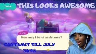 Animal Crossing: New Horizons Summer Update – Wave 2 | REACTION!!