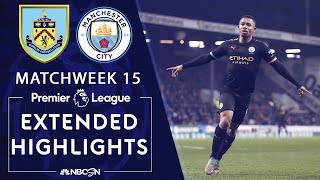 Burnley v. Manchester City | PREMIER LEAGUE HIGHLIGHTS | 12/03/19 | NBC Sports