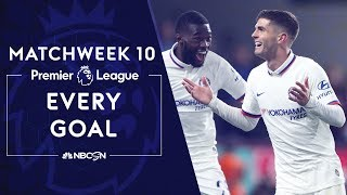 Every Premier League goal from Matchweek 10 | NBC Sports