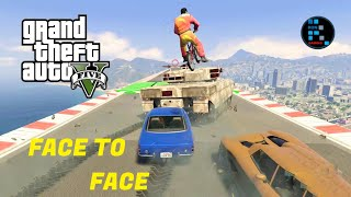 GTA V | FACE TO FACE PARKOUR, FUNNIEST MODE EVER