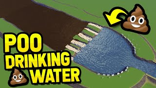 TURNING POOP WATER INTO DRINKING WATER in CITIES SKYLINES
