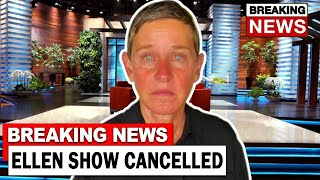 Ellen Show OFFICIALLY CANCELLED After This Happened...