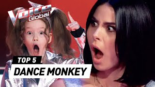 "Incredible ""DANCE MONKEY"" covers in The Voice Kids"