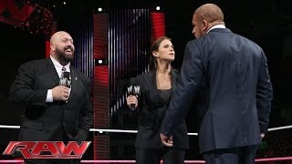 Stephanie McMahon rehires Big Show: Raw, Nov. 4, 2013