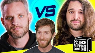 ULTIMATE PC Tech Support Challenge - Jayztwocents vs Gamers Nexus