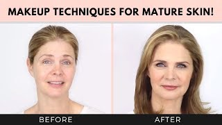 Makeup Techniques for Women over 40! Dawn and Joseph