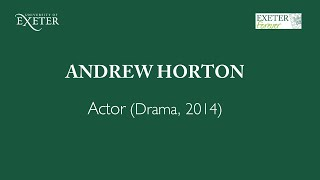 Jupiter's Legacy - Q&A with actor Andrew Horton