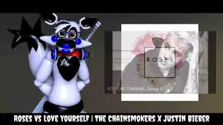 Roses Vs Love Yourself | The Chainsmokers x Justin Bieber | (Remake Mashup)