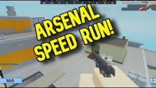 Speedrunning Arsenal (ROBLOX)