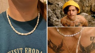 Making the Harry Styles Golden Necklace | DIY