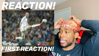 FIRST REACTION to Zinedine Zidane the most ELEGANT player ever