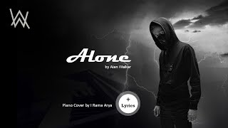 Alan Walker - Alone (Restrung)  Piano Cover + (lyrics)