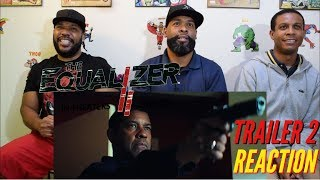 The Equalizer 2 Trailer 2 Reaction