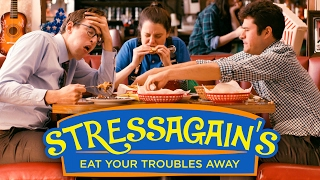 Stressagains: The Restaurant for Stress-Eating