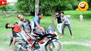 TRY TO NOT LOUGH CHALLENGE  Must Watch New Funny Video 2020_ Episode 42 By Bindas Fun Bd