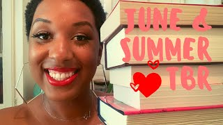 #blackbooktube June 2020 TBR | Summer Reading Experiment