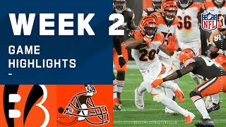 Bengals vs. Browns Week 2 Highlights | NFL 2020