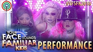 Your Face Sounds Familiar Kids 2018: TNT Boys as Christina Aguilera, Pink and Mya | Lady Marmalade