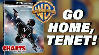 WB Sends Tenet Home; What's Next for Wonder Woman? - Charts with Dan!