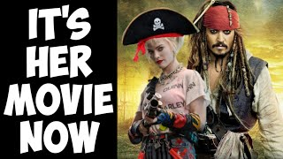 Johnny Depp fired for THIS?! Pirates of the Caribbean reboot promises super girl power!
