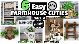 FARMHOUSE DIY HOME DECOR/DOLLAR TREE/SUPER CHEAP FARMHOUSE DECOR/PART 3 OF 3/HOT HUMBLE PIE