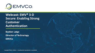 EMV® 3-D Secure: Enabling Strong Customer Authentication