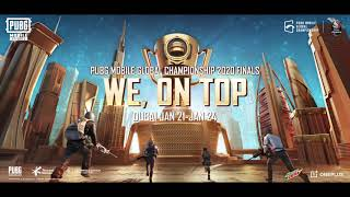 """Battle for Glory,"" Official Theme Song of the PUBG MOBILE Global Championship 2020 Finals"