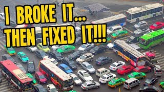 I lost my MIND...then I FIXED the Traffic in Cities Skylines!