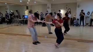 Andante & Meti - Lindy Circle & Variations @ Team MINT (Oct Week 1) 다양한 린디써클 스윙댄스