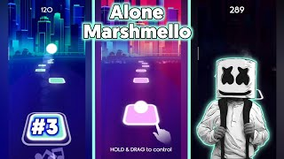 Alone Marshmello - Tiles EDM Hop Music - BeastSentry