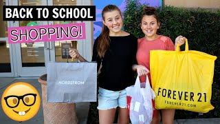 BACK TO SCHOOL CLOTHES SHOPPING WITH MOM! TEEN EDITION