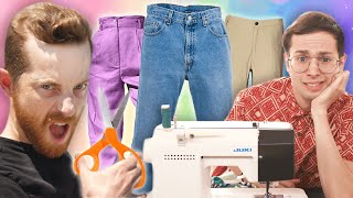 The Try Guys Try To Make Pants Without Instructions