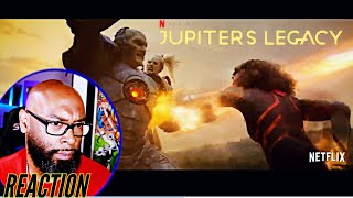 Jupiters Legacy Official Trailer Reaction