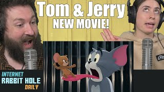 TOM & JERRY - Official Trailer | irh daily REACTION!