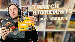 LIVESTREAM HIGHLIGHTS 🔥 | Booster OPENING BOX BREAK Pulls; POKEMON, FORTNITE. 6 Stunden STREAM 🔥