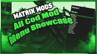 ¤ Paid Menu ¤ MatrixMods All Cod Menu Showcase [RGH/Jtag] | [ Best Trickshot Menu ] |