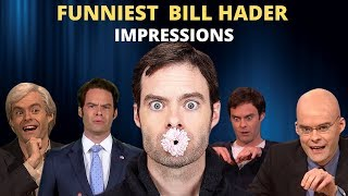25 Funniest Bill Hader Impressions