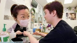 Chinese Speaking White Guys Catch Gossiping Nail Salon Workers Red Handed