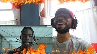 Travis Scott - HIGHEST IN THE ROOM (REACTION!)