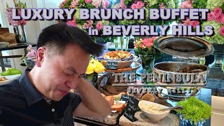 Most Expensive Brunch Buffet in LA?!? | The Belvedere @ The Peninsula Beverly Hills