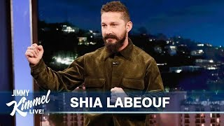 Shia LaBeouf on Playing His Father in Honey Boy, Writing in Rehab & Kanye West
