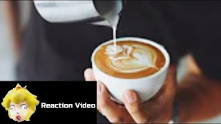 THAT IS VERY VERY GROSS! - HowToBasic:How To Make The Perfect Coffee reaction!