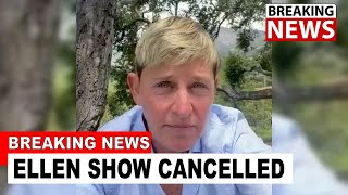 Ellen Show Is OFFICIALLY CANCELLED After This Happens...