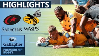Saracens v Wasps - HIGHLIGHTS | 7 Penalties Clinch Win | Gallagher Premiership