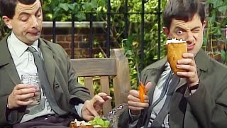 A Spot of Lunch | Funny Clips | Mr Bean Official