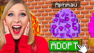 So I Adopted Aphmau in Minecraft...
