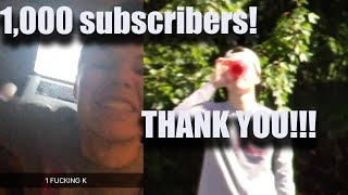 1,000 SUBSCRIBER SPECIAL - THANK YOU!!!
