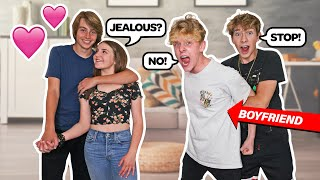 LAST TO SAY NO TO GIRLFRIEND WINS **Flirting With My Boyfriend's Best Friend**😡| Piper Rockelle