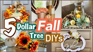 Fall DIY Decor || Dollar Tree DIYS for FALL
